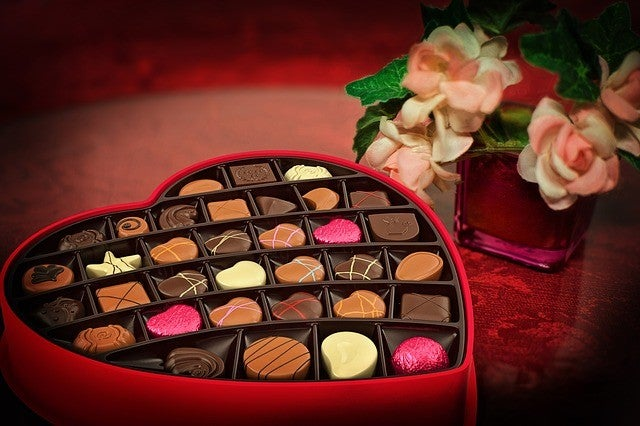 cute valentines gifts for her romantic chocolate box delivery