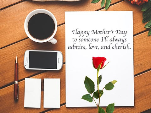 cute mothers day gifts and mothers day gift card idea
