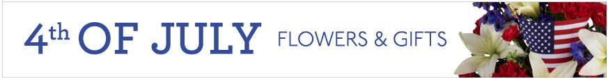 4th of July Flower Arrangements at Send Flowers