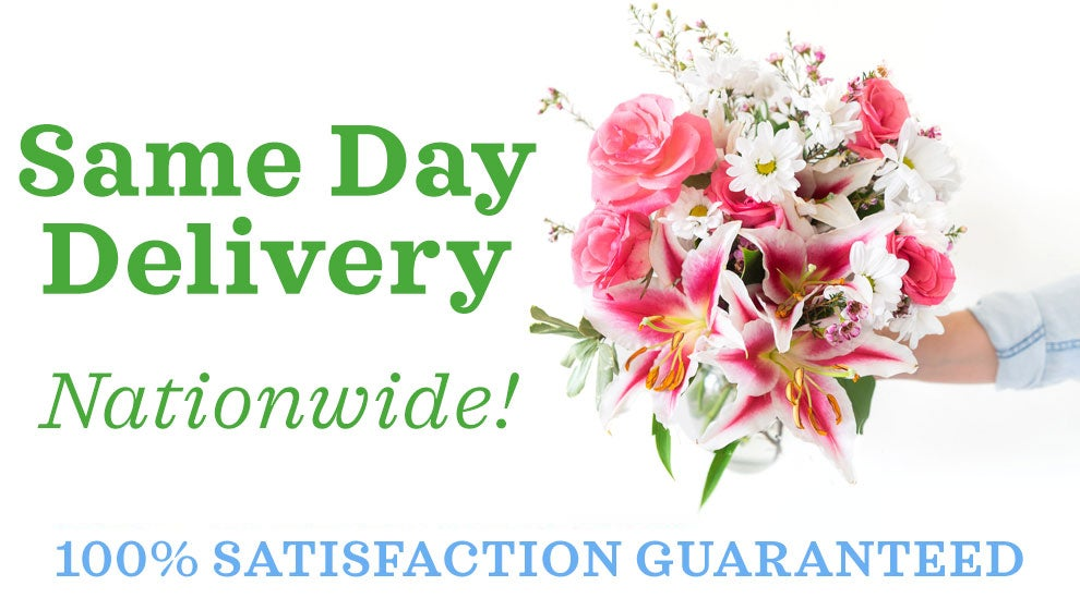 Same Day Delivery Nationwide at Send Flowers