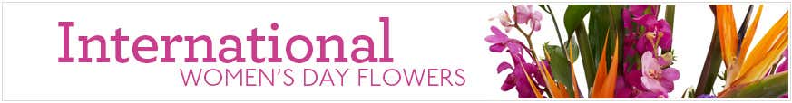 International Women's Day Flowers & Gifts at Send Flowers