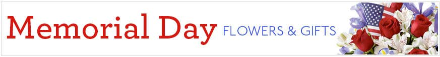 Memorial Day Flowers Delivery at Send Flowers