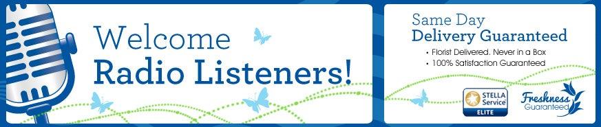 Radio Listeners at Send Flowers