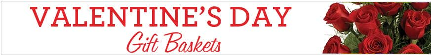 Valentines Day Gift Baskets For Her & Him at Send Flowers