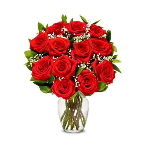 most popular valentine's day flowers boxed red roses