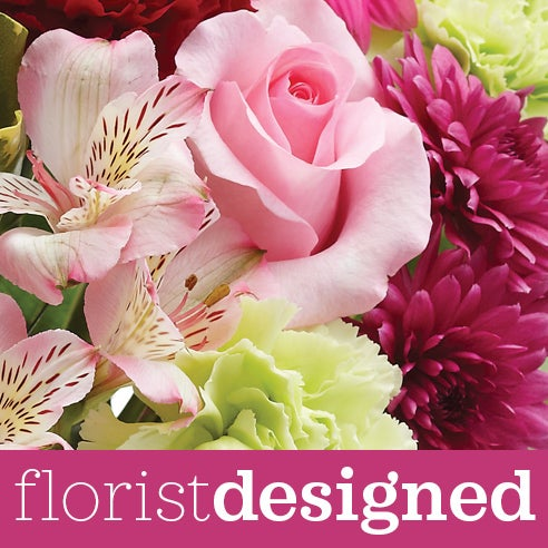 Designer florist bouquet of the cheapest anniversary flowers and best value anniversary flowers online