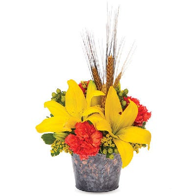 Brilliant Harvest Lily Bouquet