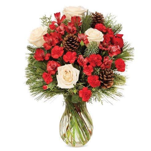 Evergreen Rose Garden Bouquet