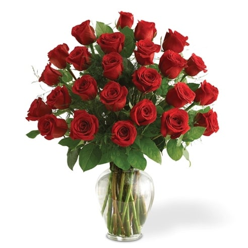 Two Dozen Red Roses At Send Flowers