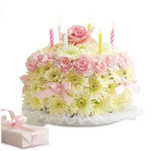 1 800 FlowersR Birthday Flower CakeR