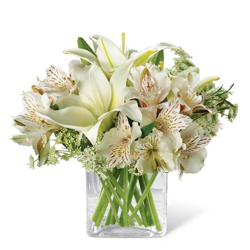 White lily gift of thanks at send flowers negle Images