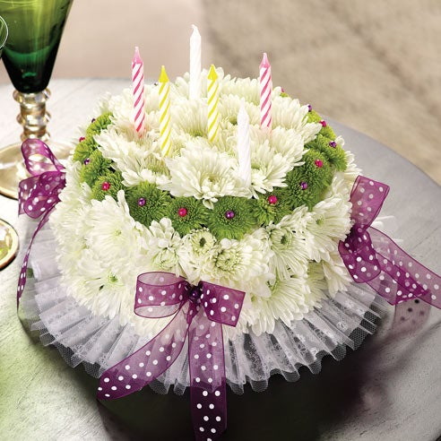 happy birthday flowers and cake it s your happy birthday cake at send flowers 4716