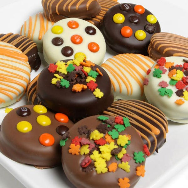 Ideas for Halloween gifts, halloween chocolate covered oreos