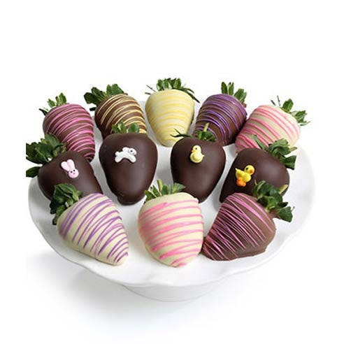 Easter gift ideas and Easter gifts for kids Easter chocolate covered strawberry delivery
