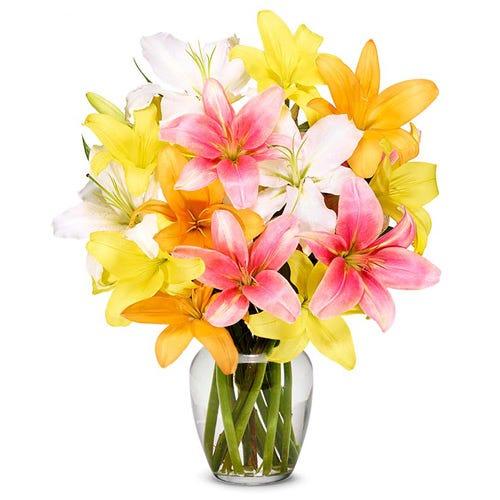 Sunrise Lily Bouquet