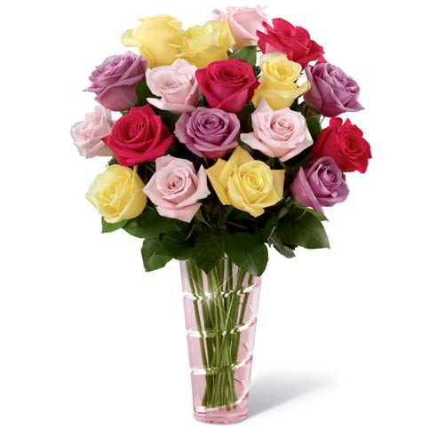 Same day roses and long stem roses for cheap flower delivery or mothers day flowers