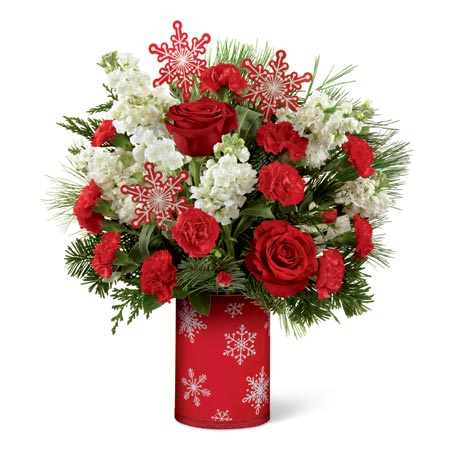 Snowy Christmas Morning Bouquet