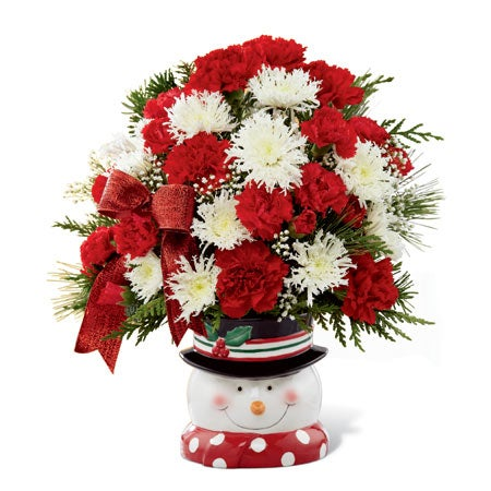The Perfect Snowman Bouquet