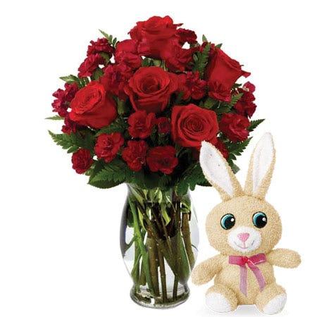 Crimson Easter Love Bouquet