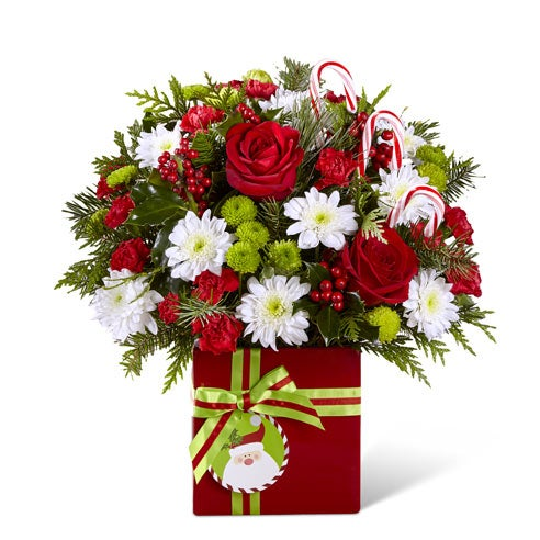 Holly Jolly Holiday Bouquet
