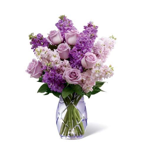 Lavender roses and lavender rose bouquet for same day flower delivery