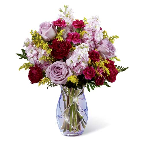 Best flowers for mom on mothers day roses in purple