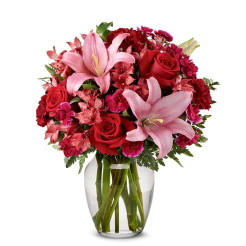 cheap gorgeous mixed rose bouquet for same day delivery roses valentines day