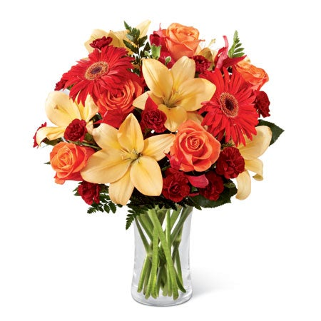 Sendflowers com reviews of cheap flowers and this peach lily bouquet