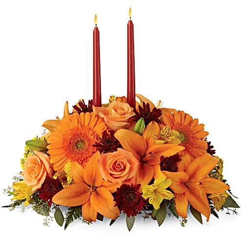 Autumn Florals Centerpiece