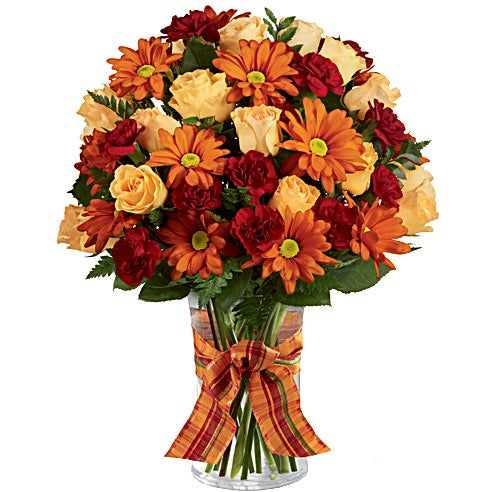 Same day sunday delivery of orange roses with beautiful cheap flowers