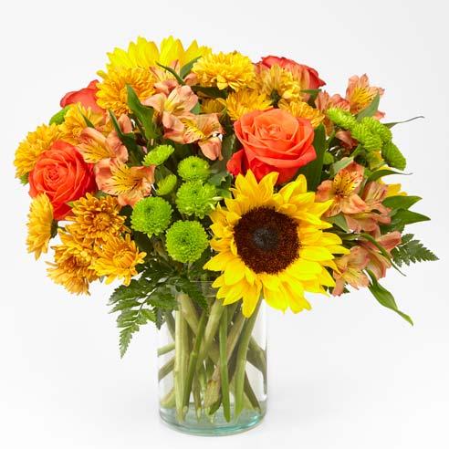 The Sunflower Golden Hour Bouquet