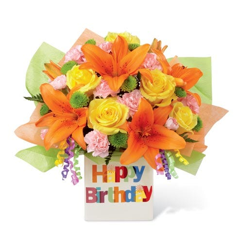 Festive Birthday Bouquet