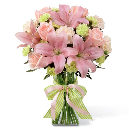 New Baby Delight Bouquet - Girl