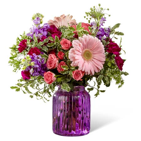 pale pink gerbera daisy delivery and light pink gerbera daisy bouquetFTD-G11