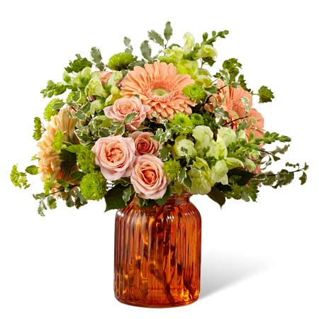 vintage flower bouquet and retro flower bouquet delivery with gerbera daisy