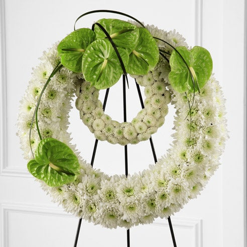 Flowers arrangement for funeral modern funeral wreath delivery