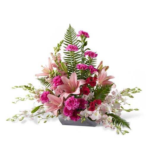 Shop sympathy gifts and send flowers for someones funeral flowers