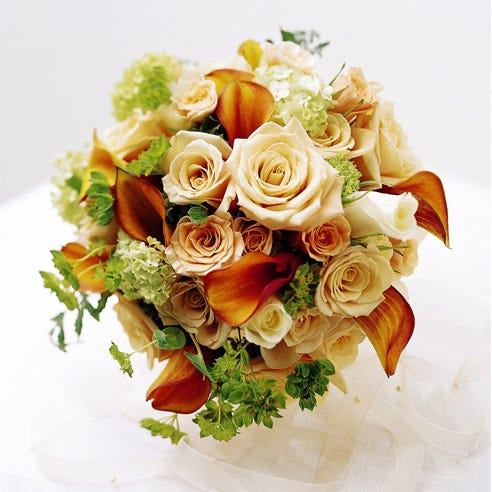 Natural Love Wedding Bouquet