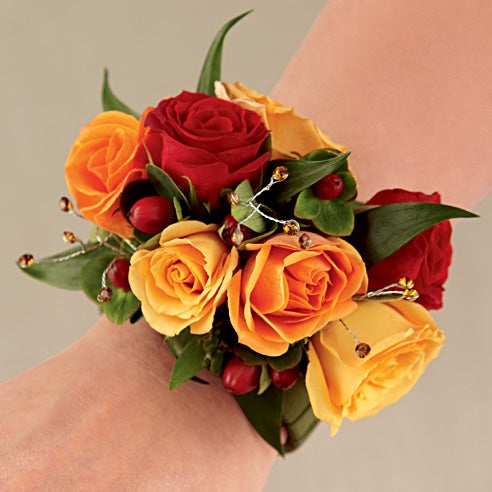 flower on wrist and prom wrist flowers online from send flowers