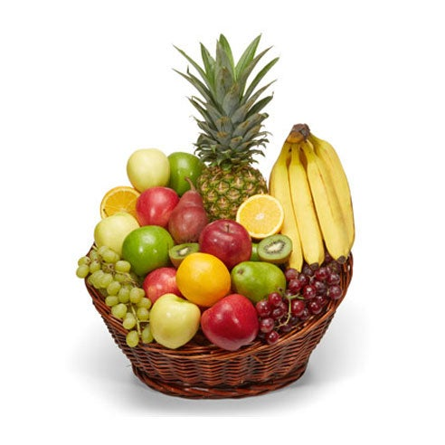 Unique administrative professionals day gift delivery in a fruit delivery gift basket