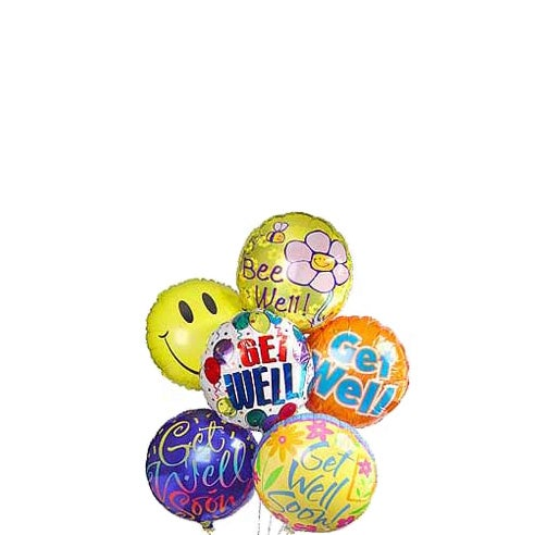 Get well balloons for kids, get well balloons for delivery, same-day delivery