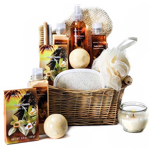 luxury spa gift basket, cheap spa gifts delivery online
