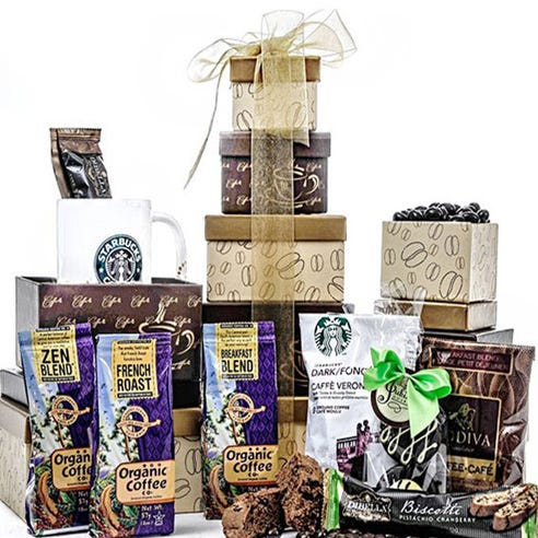 Deluxe Coffee Gift Tower