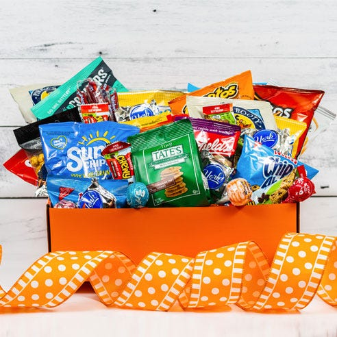 Ultimate Chips Candy & Snacks Box