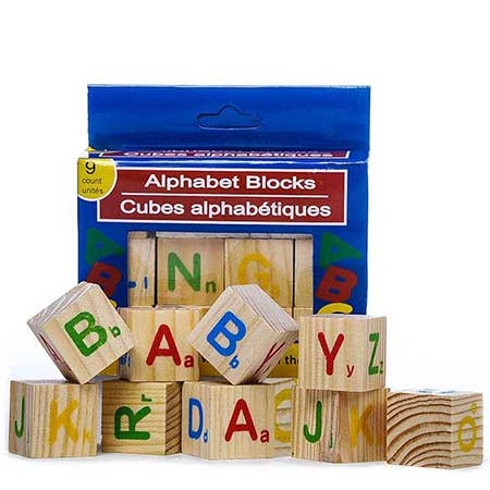 alphabet blocks toy and same day newborn baby gift delivery or gift for children