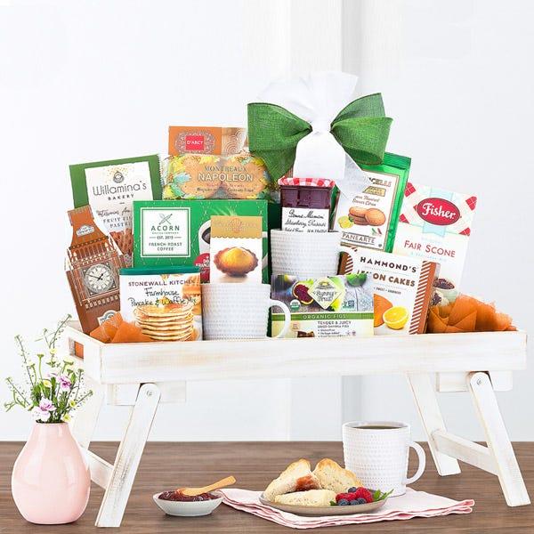 Mother's Day Breakfast Gift Basket