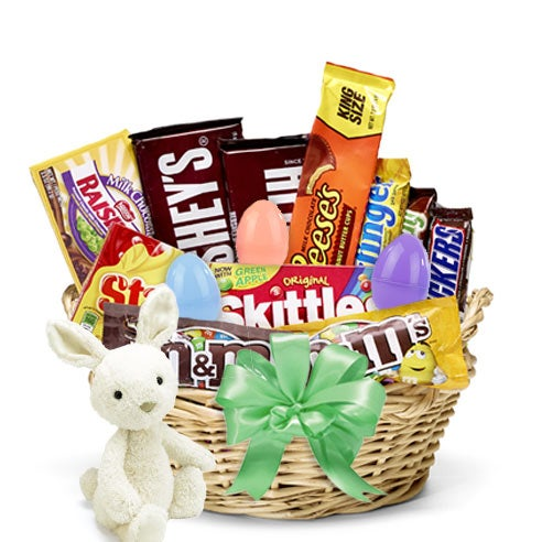 Easter Bunny's Easter Egg Candy Basket