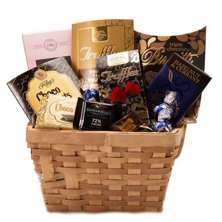 chocolate lovers gifts basket delivery