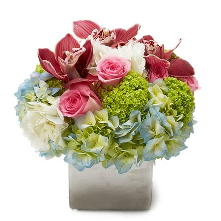 Luxury maroon cymbidium orchid bouquet, burgundy cymbidium orchids bouquet