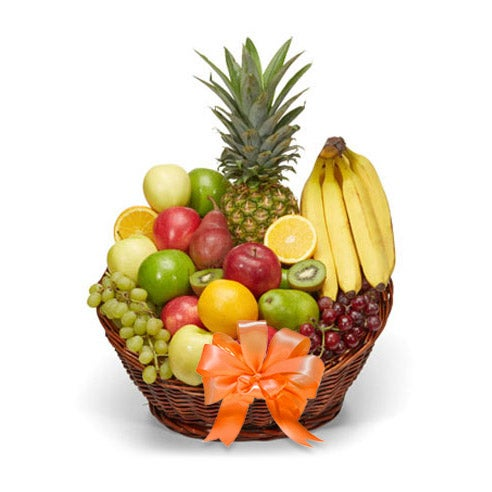 Fall fruits gift basket delivery, cheap Halloween fruits gift basket at Send Flowers